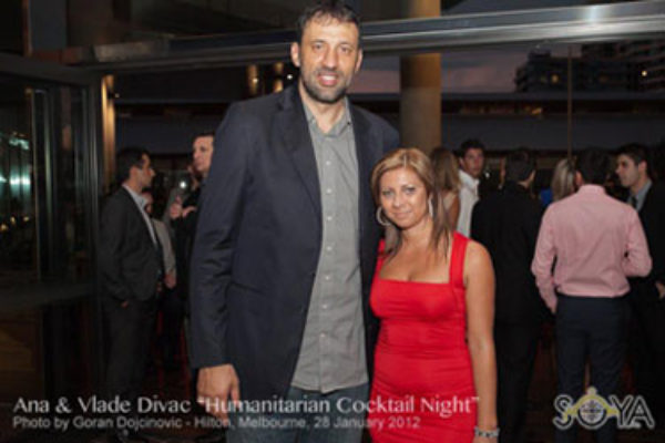 Ana i Vlada Divac Humanitarian Cocktail night